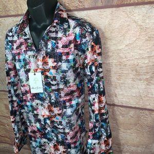 Robert Graham Shirts - Robert graham Button down shirt men's large new